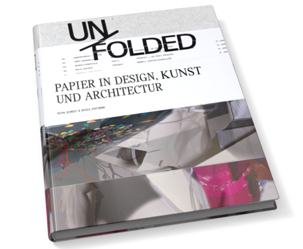 Logo Unfolded. Papier in Design, Kunst, Architektur und Industrie