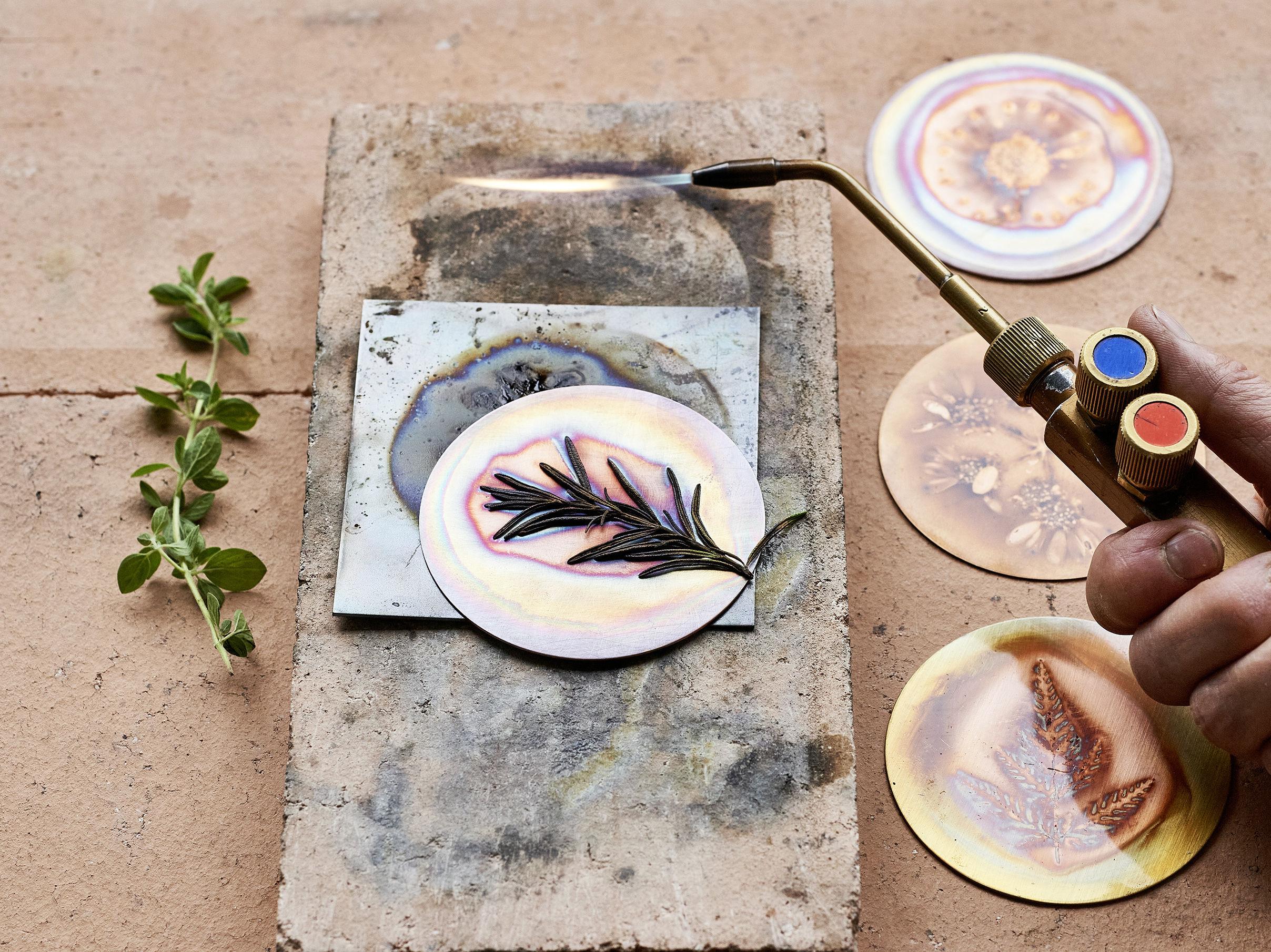 Workshop für alle: Buntschillernde Objekte aus Kupferblech - nur noch Warteliste!