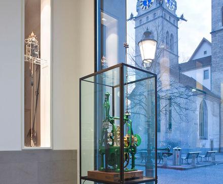 Logo 20 Jahre Jubiläum: Gewerbemuseum Winterthur & Uhrenmuseum Winterthur
