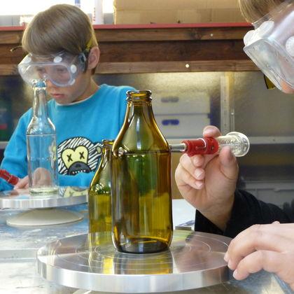 Workshop für alle: Aus Altglas wird Trinkglas! – Ausgebucht!