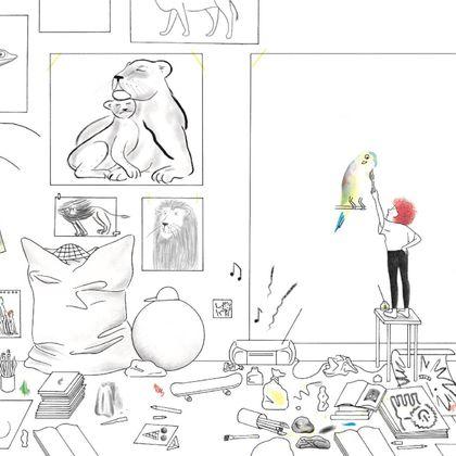 Bilderbücher: illustriert & inszeniert