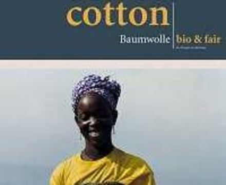 Logo Cotton. Baumwolle: bio & fair