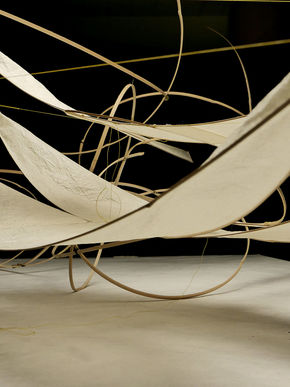 Logo Ausstellung Anna Rubin – In die Luft gebaut