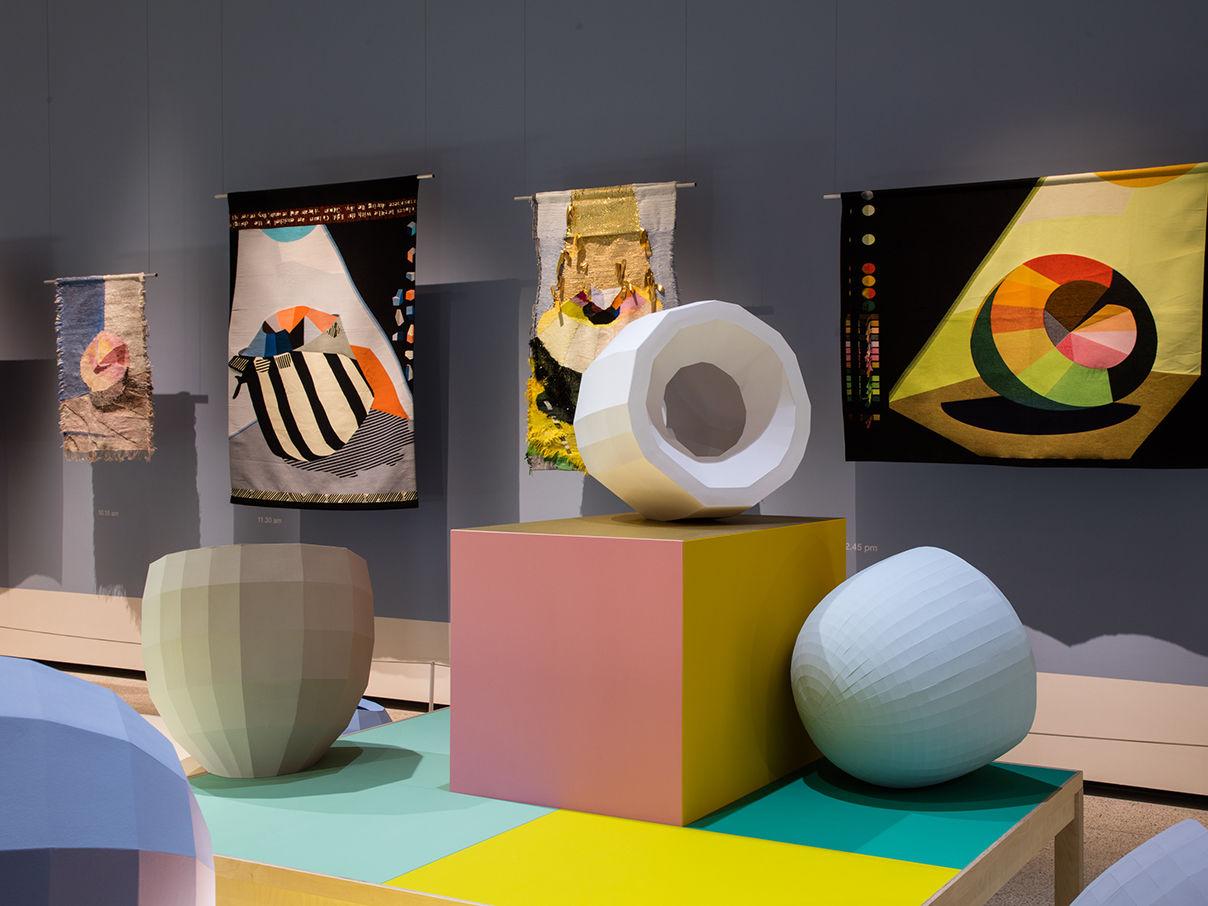 Ausstellungseröffnung: Hella Jongerius – Breathing Colour