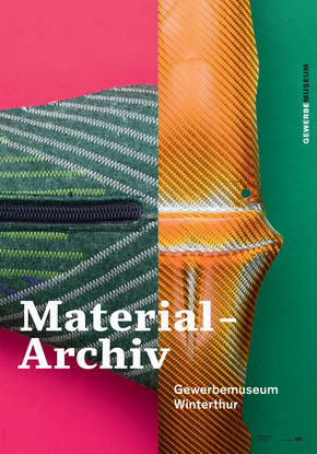 Logo Ausstellung Material-Archiv