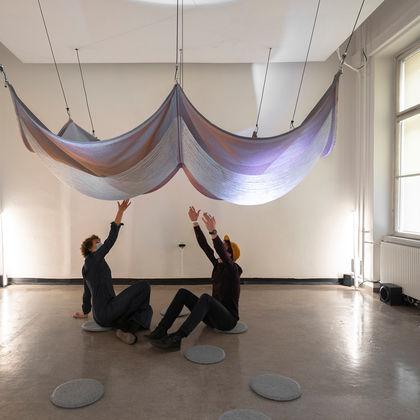Ausstellungsgespräch: Colour Perspectives on Materials